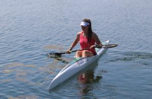 Eurotecno canoa Ilaria Garavelli